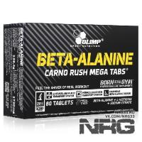 OLIMP Beta-Alanine Carno Rush Mega, 80 таб