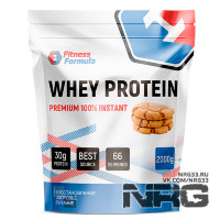 FITNESS FORMULA Whey Protein 100% Premium, 2 кг