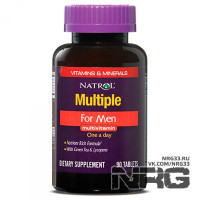 NATROL Multiple for Men Multivitamin, 90 таб