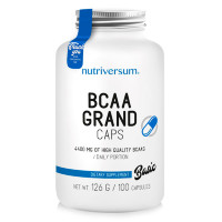 NUTRIVERSUM BCAA Grand Caps, 100 кап