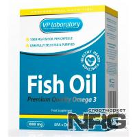 VPLAB Fish Oil 1000мг, 60 кап