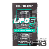 NUTREX Lipo-6 Black HERS Ultra Concentrate, 60 кап