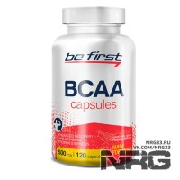 BE FIRST BCAA Capsules, 120 кап