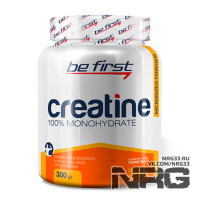 BE FIRST Creatine powder, 300 г