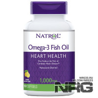 NATROL Omega 3 Fish Oil 1000 мг, 90 кап