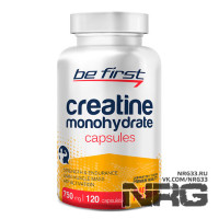 BE FIRST Creatine Monohydrate Capsules, 120 кап