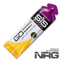 SIS Go Isotonic Energy Gels, 60 мл
