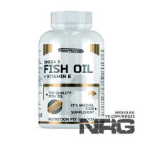 KINGPROTEIN Fish Oil + Vitamine E, 90 кап