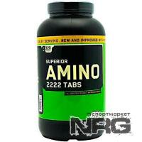 OPTIMUM NUTRITION Amino 2222 new, 320 таб