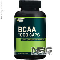 OPTIMUM NUTRITION Bcaa 1000, 200 кап
