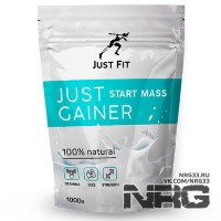 JUST FIT Gainer Start, 1 кг