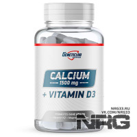 GENETIC Calcium+D3, 90 таб