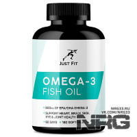JUST FIT Omega 3 1000, 180 кап