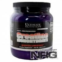 ULTIMATE Creatine Monohydrate 100% Micronized, 1000 г
