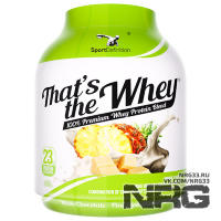 SPORTDEFINITION That's The Whey (WPI+WPC), 2.27 кг