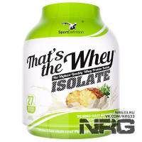 SPORTDEFINITION That's The Whey ISOLATE (WPI 90%), 2.27 кг