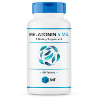 SNT Melatonin 5 мг, 60 таб