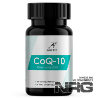 JUST FIT CoQ-10 100mg, 30 кап
