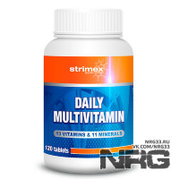 STRIMEX Daily Multivitamin, 120 таб