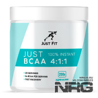 JUST FIT BCAA 4:1:1, 200 г