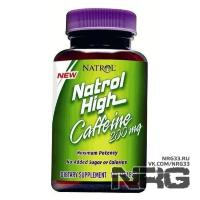 NATROL High Caffeine 200 mg, 100 таб