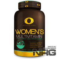 INFINITE LABS Women's Multivitamin, 120 таб