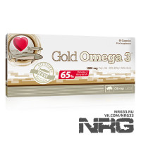 OLIMP Gold Omega 3 1000mg, 60 кап